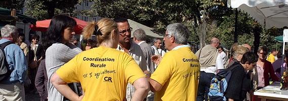 Gironde la coordination rurale veut conqu rir la chambre for Chambre d agriculture gironde